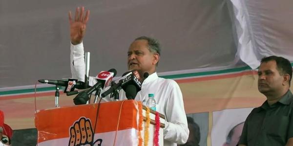 Senior Congress leader and former Rajasthan Chief Minister Ashok Gehlot (file photo)