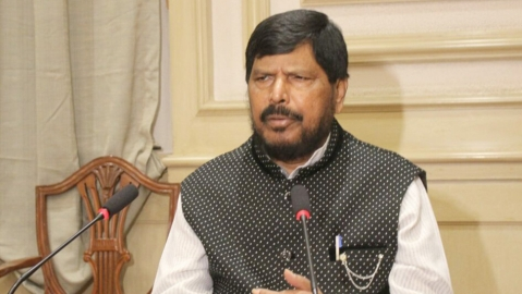 Ramdas Athawale apologises for comment on fuel price hike, demands price of fuel be brought down