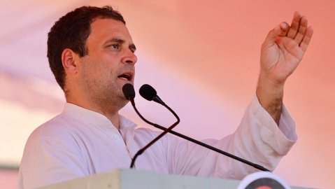 Rahul Gandhi attacks RSS-affiliated ABVP for insulting MP professor