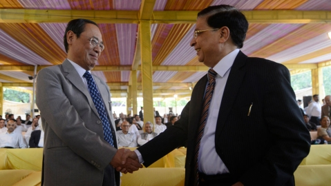 "CJI Dipak Misra: ""Calmness of the Pacific is better than anything else"""