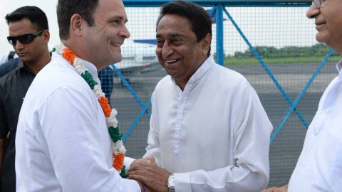 Madhya Pradesh: Rahul  in Bhopal to kick off Congress poll campaign