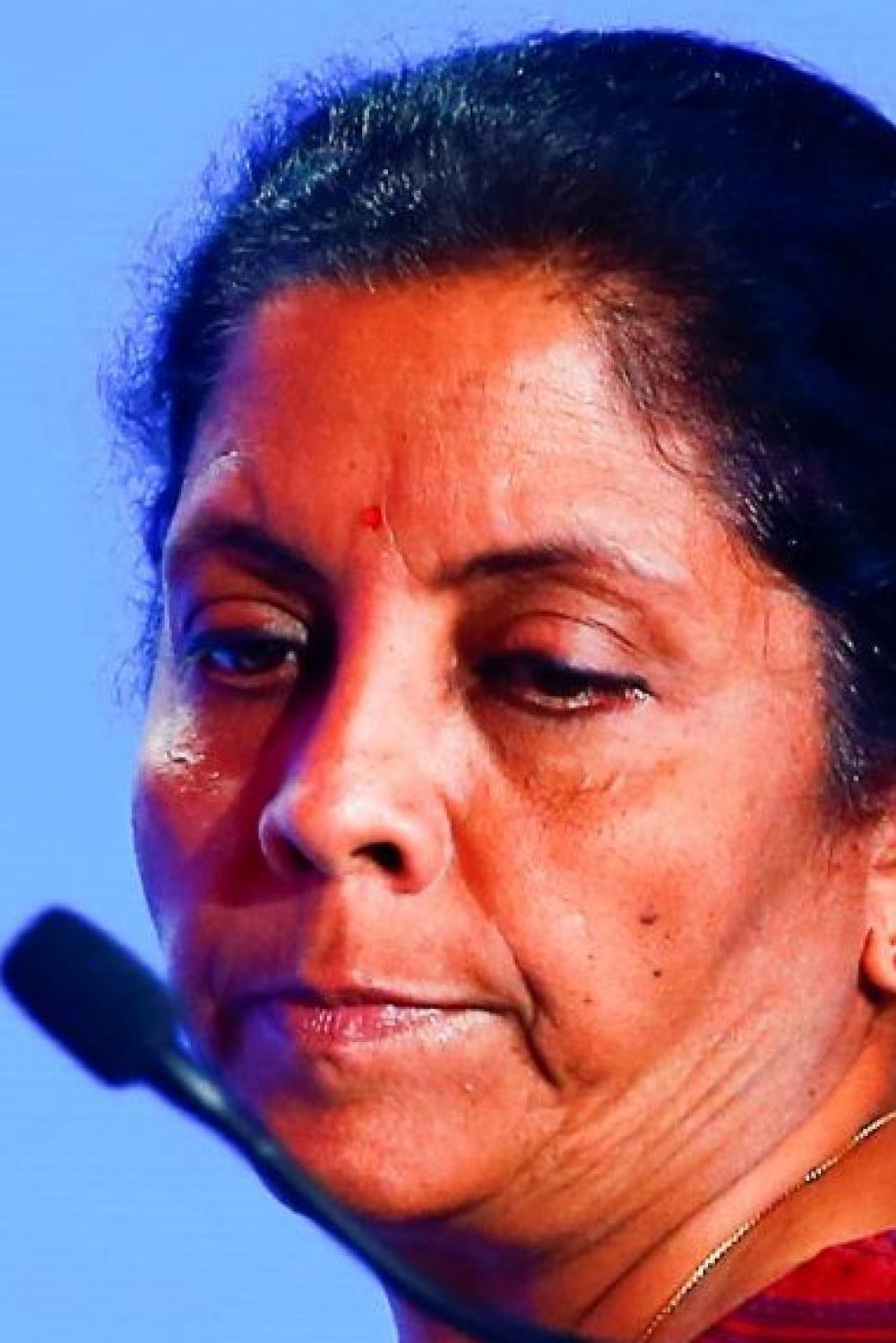 Defence Minister Nirmala Sitharaman (file photo)