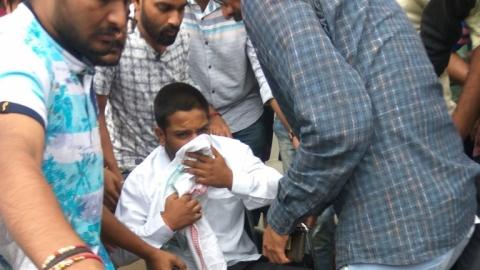 Hardik Patel rushed to hospital on Day 14 of fast