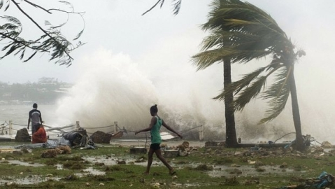 Odisha: Cyclonic storm 'DAYE' crosses coast, triggers heavy downpour