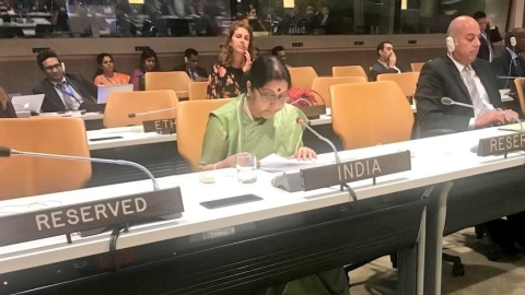 NAM: India reiterates commitment to Palestinian cause