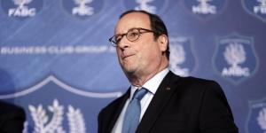 Former French President Francois Hollande