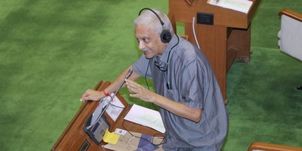 Goa Chief Minister Manohar Parrikar at the Goa Legislative Assembly (file photo)