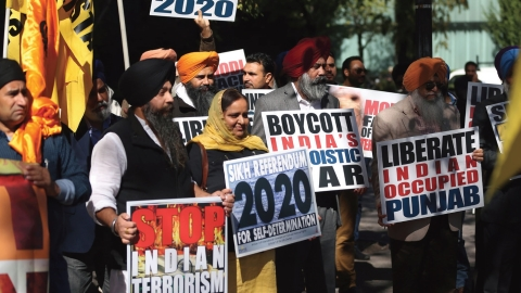 The Sikhs and  'Referendum 2020'