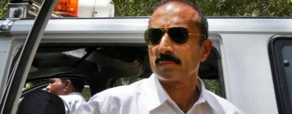 File photo of  former IPS officer Sanjiv Bhatt