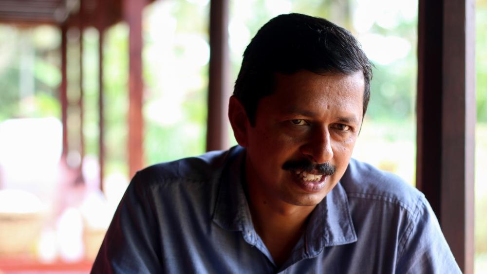Malayalam author S Hareesh