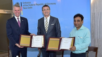 India and Germany sign a Memorandum of Agreement on setting up the German-Indo Institutes of Vocational Educational and Training