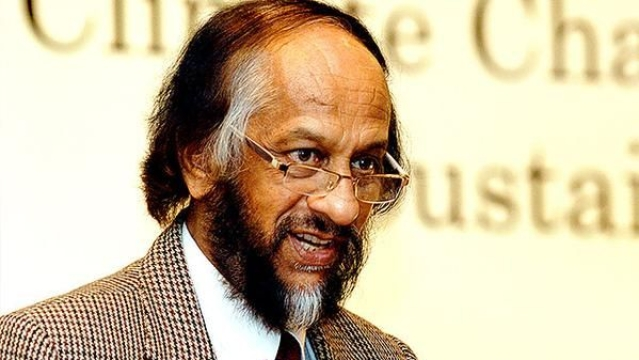 Former TERI director RK Pachauri (file photo)