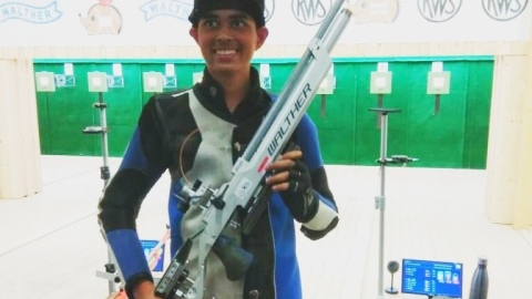 Junior shooters deliver 2 gold for India at world championships