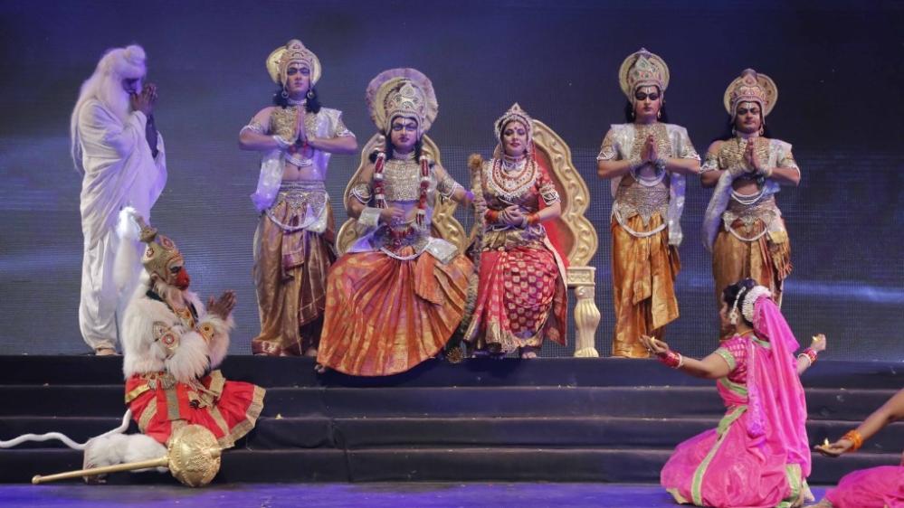A glimpse of Sampurna Ramayana-in 3 hours