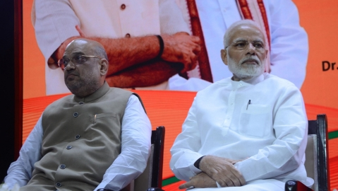Amit Shah's poll plans: Spread fire, make even  fake messages go viral