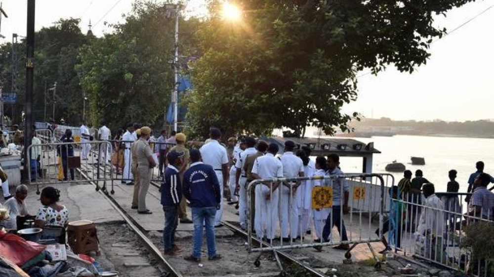 Jodda Phatak,the site in Amritsar where the tragic train accident took place on Thursday