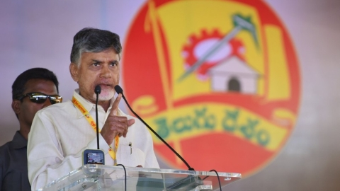 "Naidu hits back at KCR; slams  Modi Govt on  ""Rafale scam"", price rise"