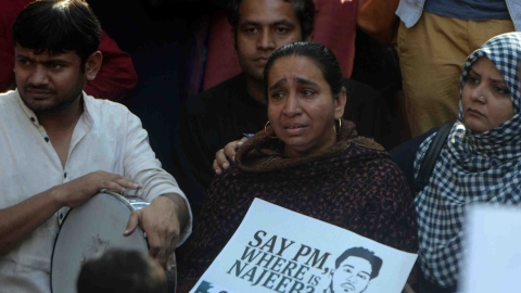 Najeeb's mother on Delhi HC order: 'Disappointed, but have not lost hope'