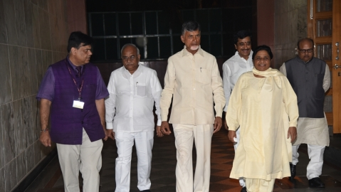 Chandrababu Naidu: Opposition parties will come together to defeat BJP