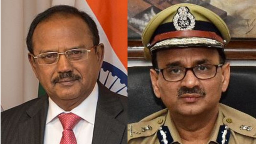 National Security Advisor Ajit Doval (L) and CBI Director Alok Verma (R)
