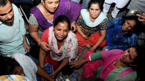 Amritsar train accident: Police begin probe as leaders, ministers