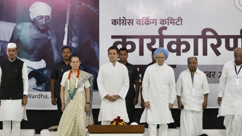 Congress CWC: Time for second freedom struggle against Modi Govt, RSS