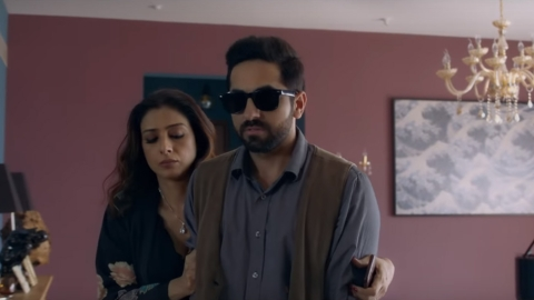 Ayushmann on his blind act in Andhadhun: Director didn't use body double for my fingers