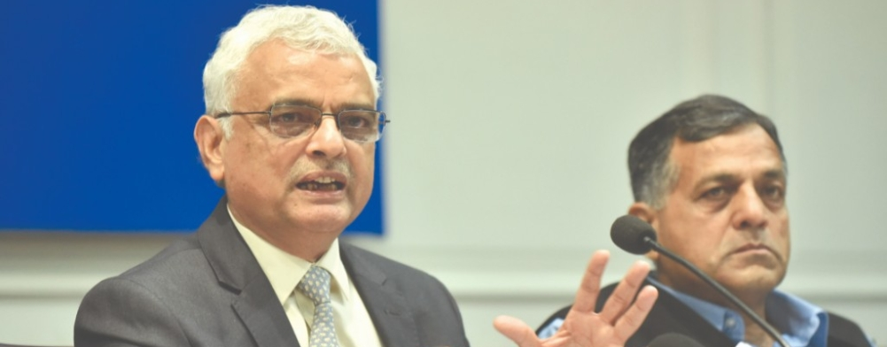 Chief Election Commissioner OP Rawat addresses a press conference
