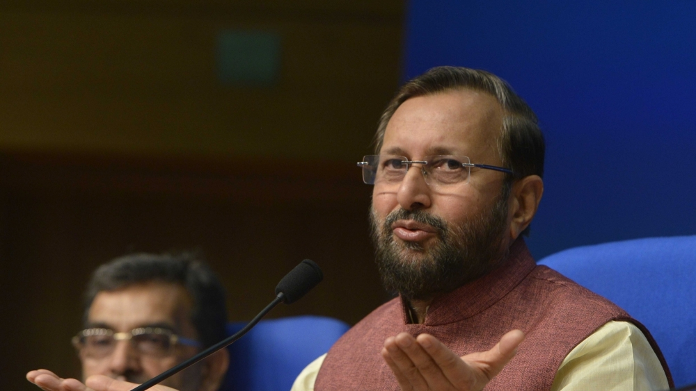 Union Human Resource Development Minister Prakash Javadekar (file photo)