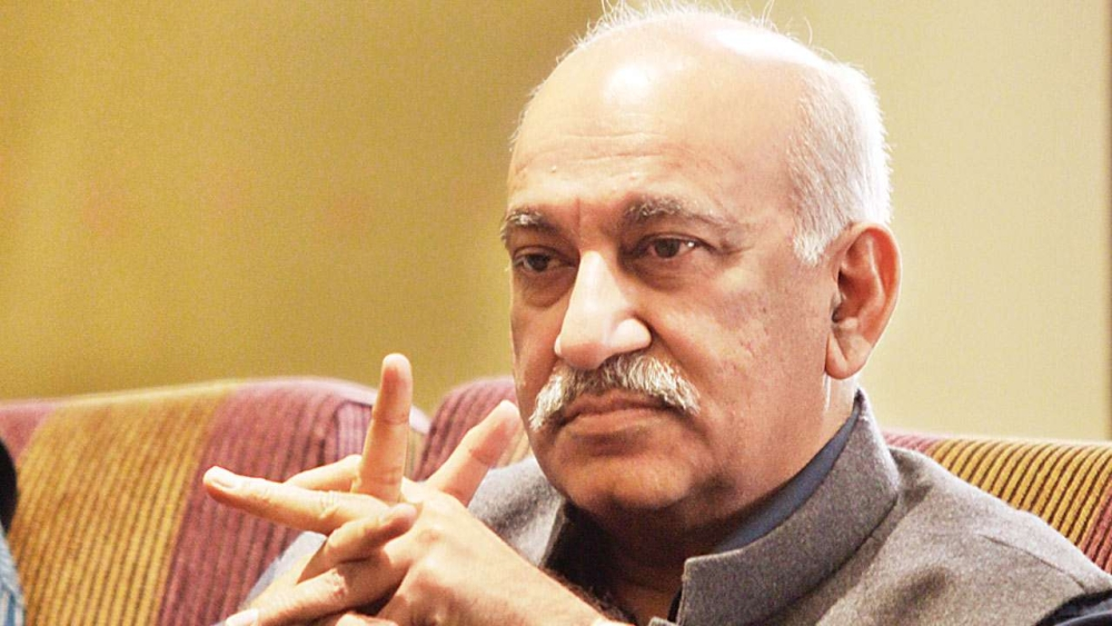 Union Minister MJ Akbar
