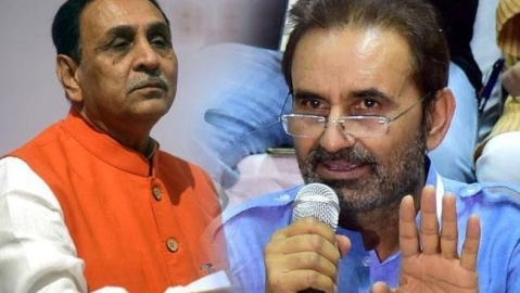Congress' Gohil to file criminal case against Gujarat CM Rupani