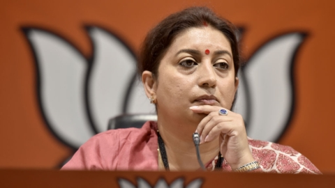 Congress attacks Smriti over academic qualification