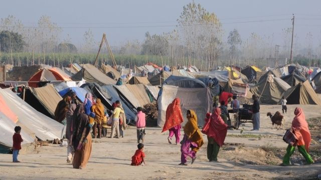 The displaced families from the Muzaffarnagar riots have been living in camps since they fled their homes