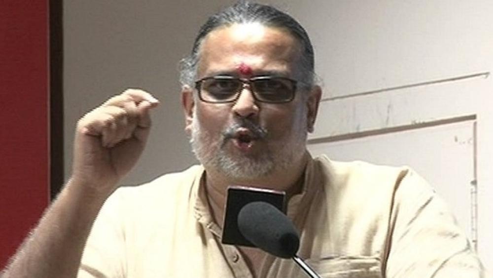 Tushar Gandhi (file photo)