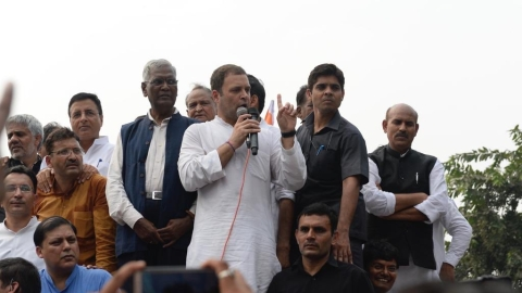 Rahul Gandhi says more will take to the streets to end Modi's corruption-ridden rule