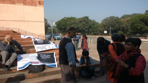 JNUTA begins hunger strike; demands restoration of academic, institutional functioning
