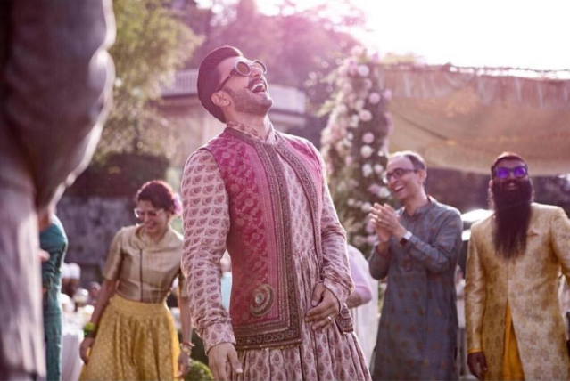 DeepVeer wedding photos show the jubilant couple