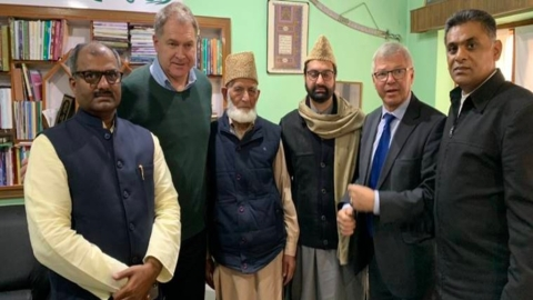"Omar to MEA Sushma, NSA Ajit Doval: ""What are the Norwegians up to in Kashmir?"""
