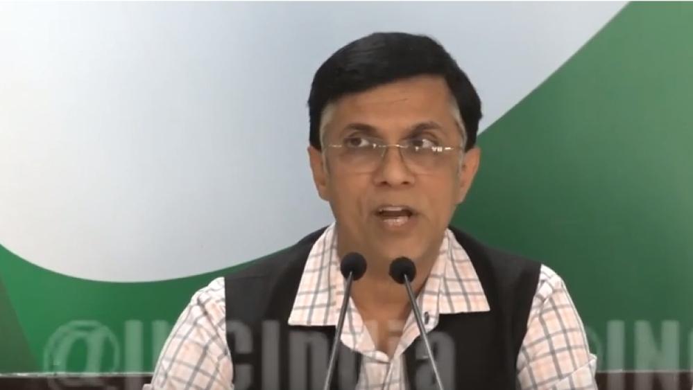 Congress spokesperson Pawan Khera