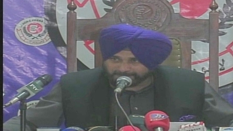 Sidhu visits Pakistan again, this time for foundation of Kartarpur Corridor