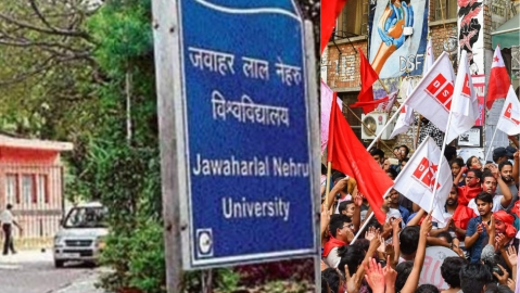 JNU Teachers'Association polls: Left sweeps, BJP loses  all seats