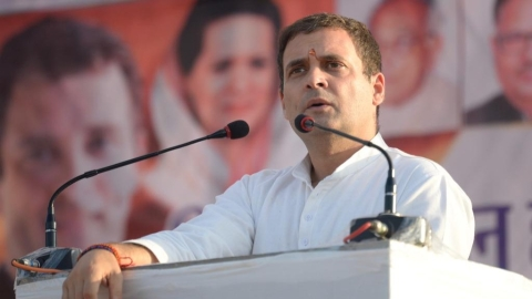 Rahul Gandhi: PM, CM don't work without seeking nod of industrialist friends
