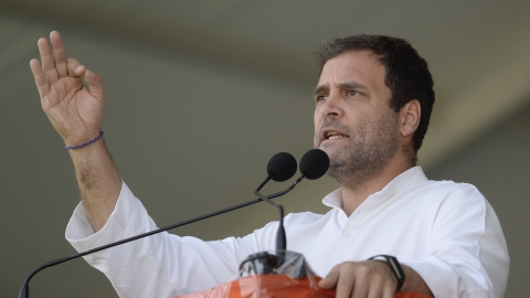 "Telangana: Rahul Gandhi calls TRS ""B-Team"" of the Sangh Parivar"