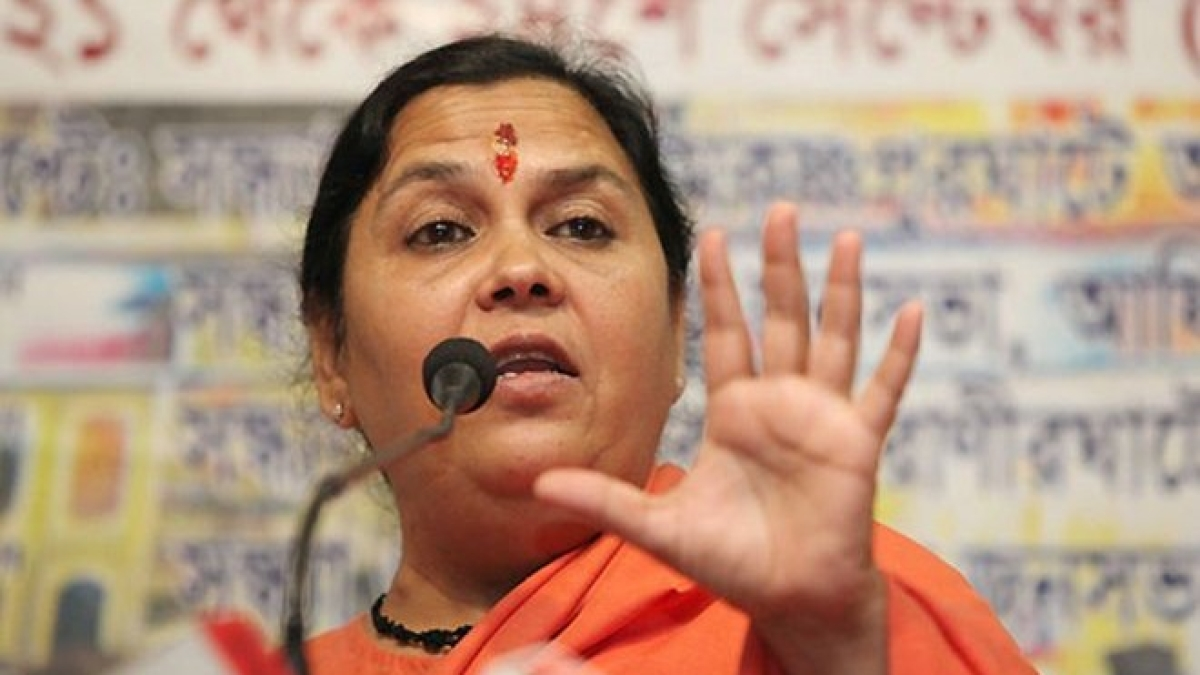 Uma Bharti says it's 'unfair' to talk about a mosque in Ayodhya