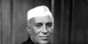 India's first Prime Minister Jawahar Lal Nehru