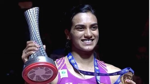 PV Sindhu makes history, first Indian to win BWF World Tour finals