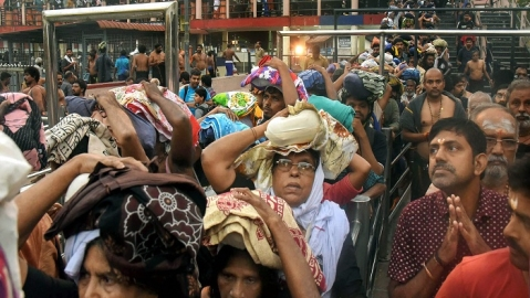 Sabarimala: Kerala govt states prohibitory orders in can't be withdrawn