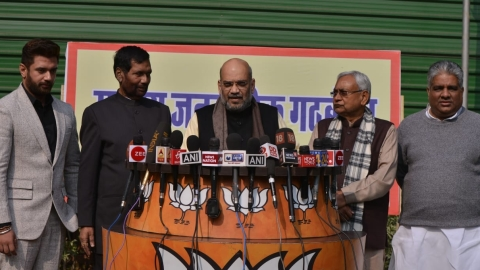 Bihar: BJP, JDU to contest 17 Lok Sabha seats, LJP gets 6
