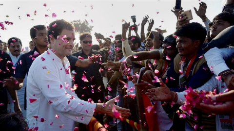 Sceptics eat humble pie, but refuse to digest Congress victory