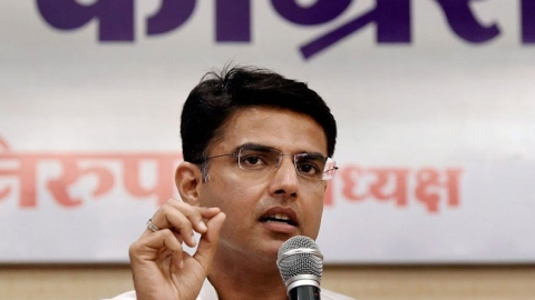 Sachin Pilot: BJP under pressure and insecure, Bihar seat sharing is its example